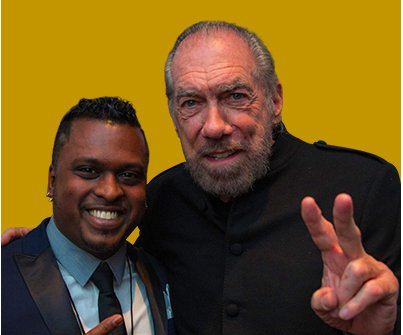 King Raj and John Paul DeJoria